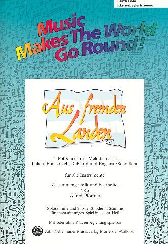 Aus fremden Landen: für flexibles Ensemble Klaviersolo/Klavierbegleitstimme