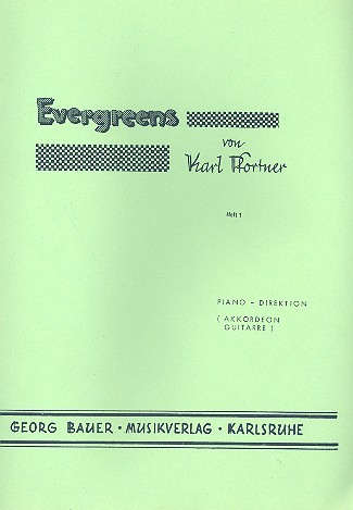 Evergreens Band 1: für Blasorchester
