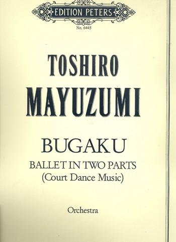 Bugaku score