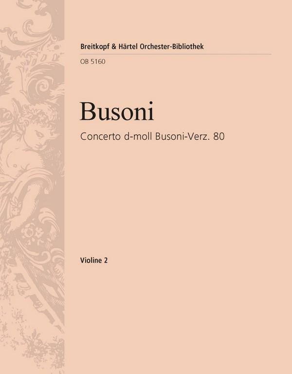 Concerto d-Moll opus.80: für Klavier und Streichorchester