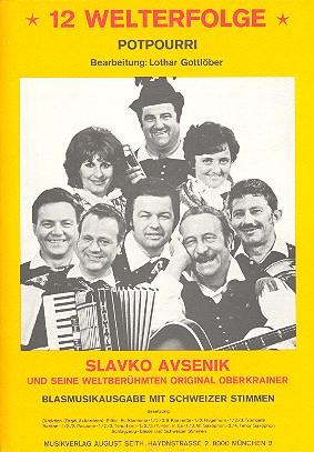12 Welterfolge: Potpourri für Blasmusik mit Schweizer Stimmen