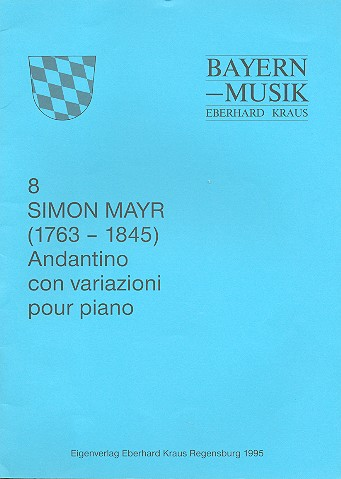Andantino con variazioni: pour piano