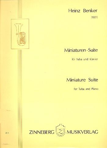 Miniaturen-Suite: für Tuba und Klavier