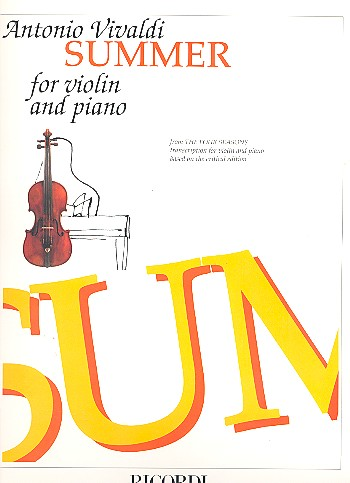 Vivaldi, Antonio - Der Sommer : Konzert g-Moll op.8,2