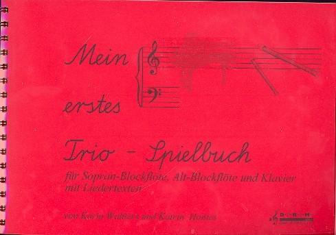 Mein erstes Trio-Spielbuch: für 2 Blockflöten (SA) und Klavier