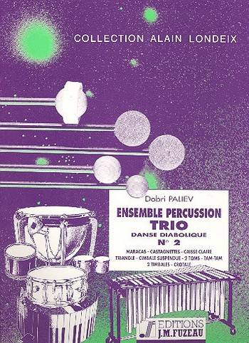 ENSEMBLE PERCUSSION TRIO NO.2: DANSE DIABOLIQUE FOR PERCUSSION