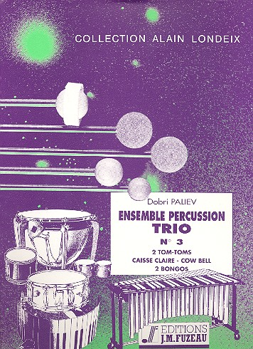 Ensemble percussion trio no.3: for percussion (3 players)
