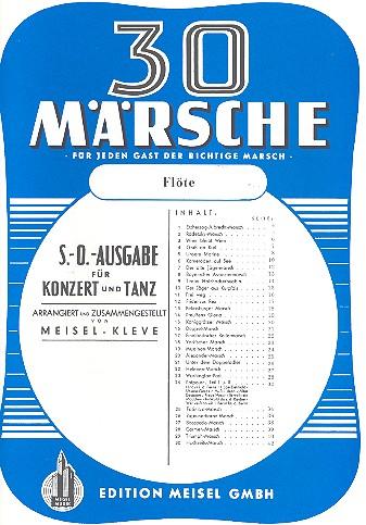 - 30 Märsche : für Salonorchester