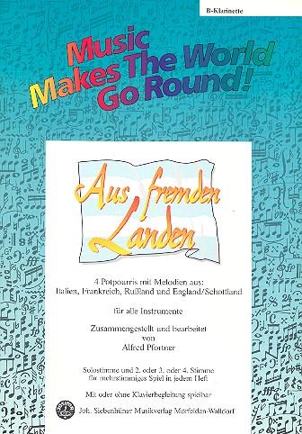 Aus fremden Landen: für flexibles Ensemble Klarinette