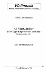 ALL NIGHT ALL DAY: SPIRITUAL FUER 4-STG MAENNERCHOR