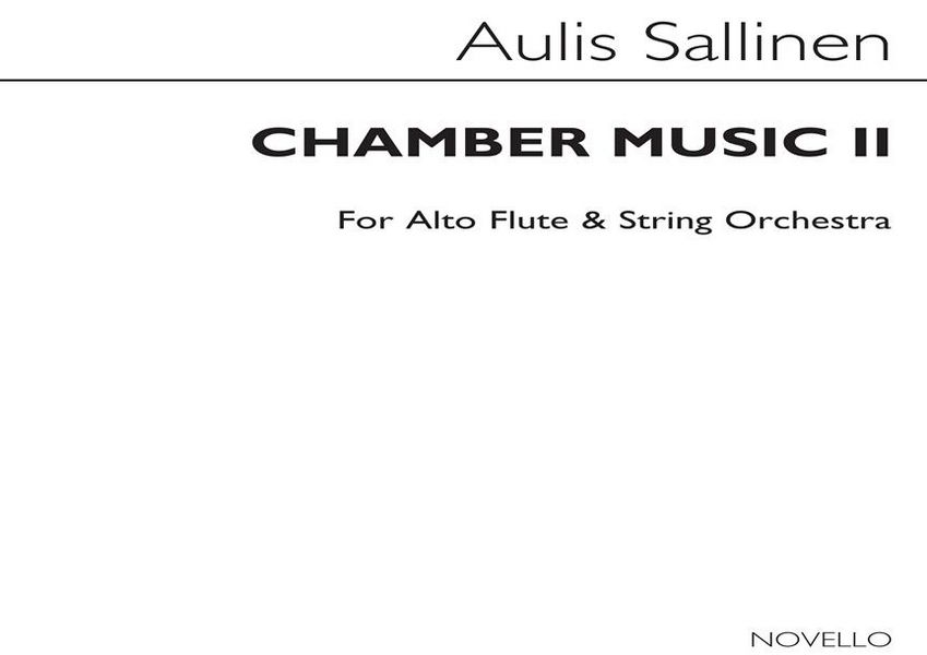 Chamber Music 2: for alto flute and string orchestra