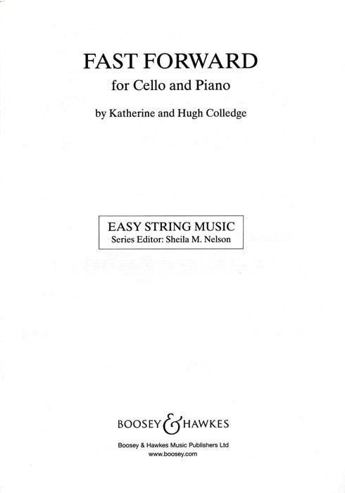 Colledge, Katherine - Fast forward : for cello and piano,