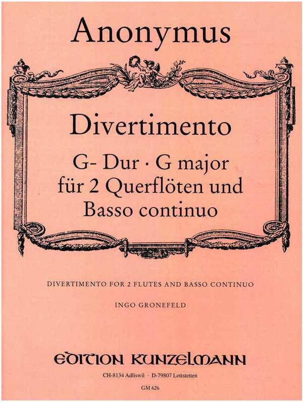 - Divertimento G-Dur : für