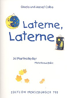 Laterne Laterne: Melodieausgabe