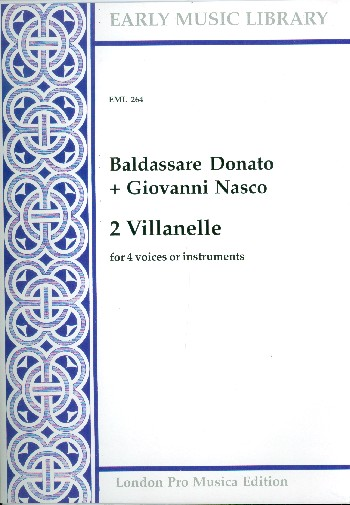 2 Villanelle: for 4 voices or instruments