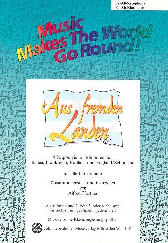 Aus fremden Landen: für flexibles Ensemble Altsaxophon/Klarinette in Es