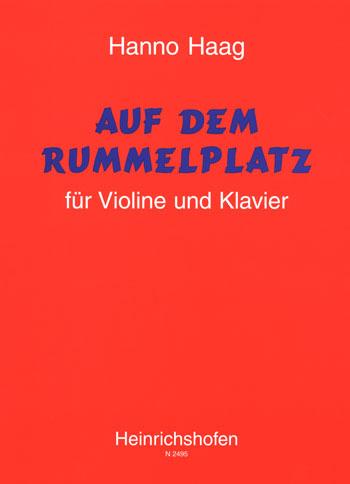 Auf dem Rummelplatz: für Violine und Klavier