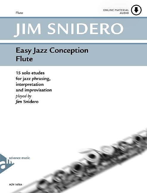 Easy Jazz Conception (+CD): flute 15 solo etudes for jazz phrasing