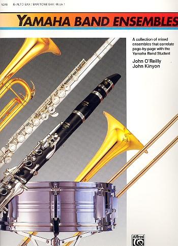 Yamaha Band Ensembles vol.1: for alto (baritone) saxophon in e flat