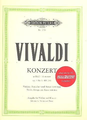 Vivaldi, Antonio - Konzert a-Moll op.3,6 für Violine
