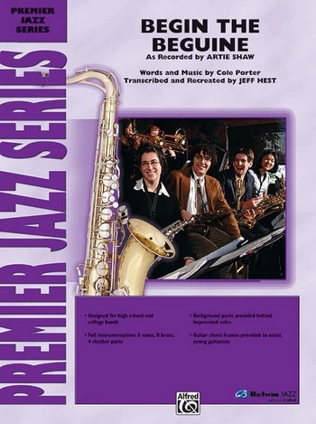 Begin the Beguine: for Big Band