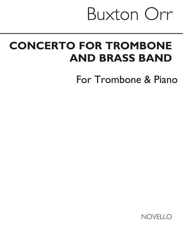 CONCERTO FOR TROMBONE AND BRASS