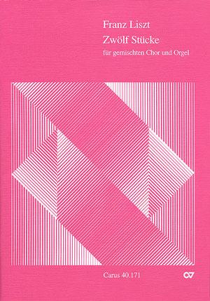 12 Stücke: für gem Chor und Orgel Partitur (dt)