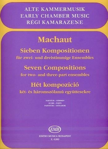 7 Kompositionen: für 2-3timmige Ensembles