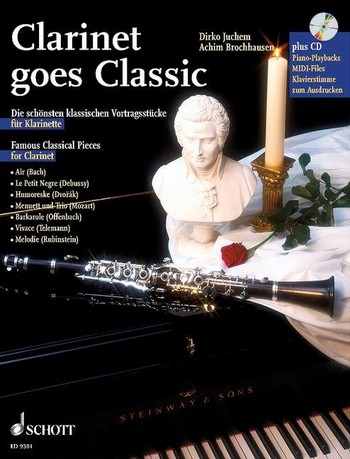 - Clarinet goes Classic (+CD) : für