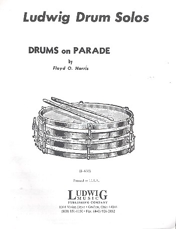Drums on Parade: for drums and piano