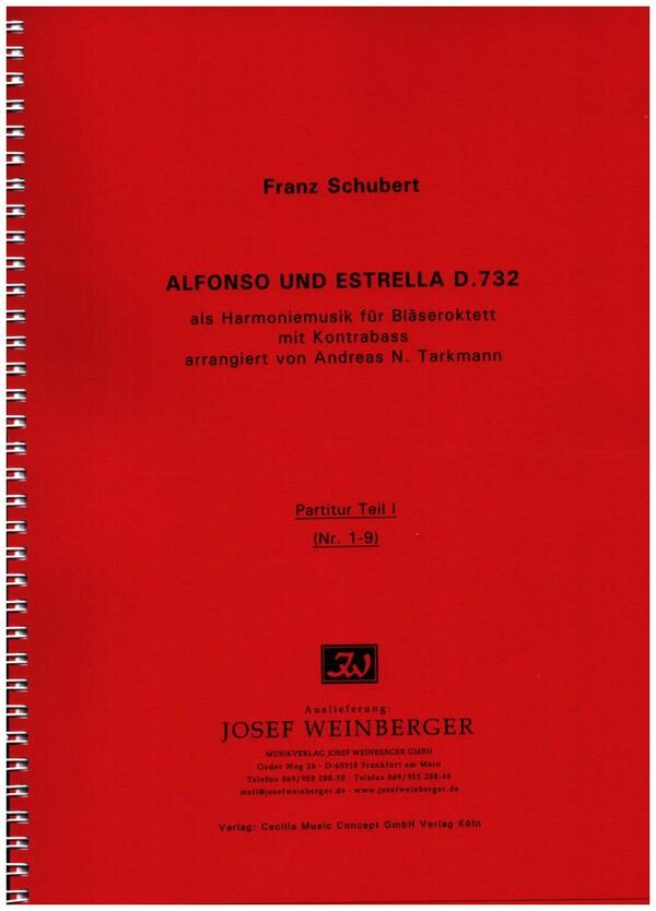 Alfonso und Estrella D732: für Bläseroktett mit Kontrabaß
