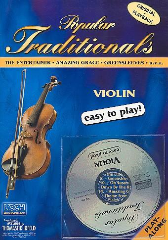 Popular traditionals (+ CD): for violin