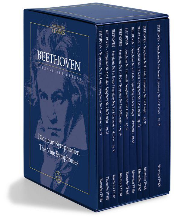 Die 9 Sinfonien: 9 Studienpartituren
