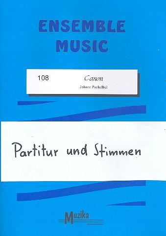 Kanon: für Streicher, Bläser und Klavier