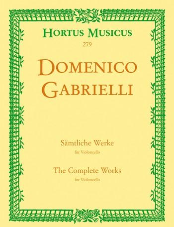 Sämtliche Werke für Violoncello