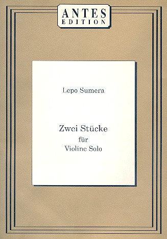 2 Stücke: für Violine solo
