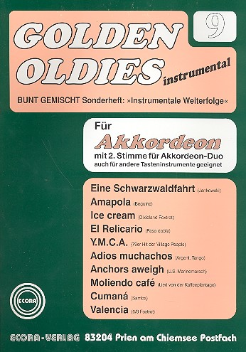 - Golden Oldies Band 9 : für Akkordeon