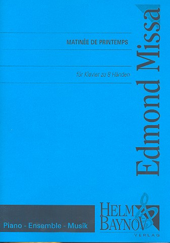 Matinee de printemps: für Klavier zu 8 Händen