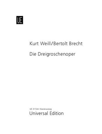 Weill, Kurt - Die Dreigroschenoper :