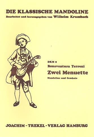 2 Menuette: für Mandoline und Cembalo