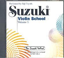 Suzuki Violin School vol.5: CD performed by Koji Toyoda