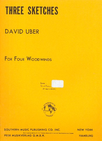 3 Sketches: for 4 woodwinds(flutes / clarinets)