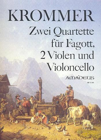 2 Quartette opus.46: für Fagott, 2 Violen und Violoncello