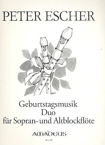 Geburtstagmusik opus.139: Duo für 2 Blockflöten (SA)