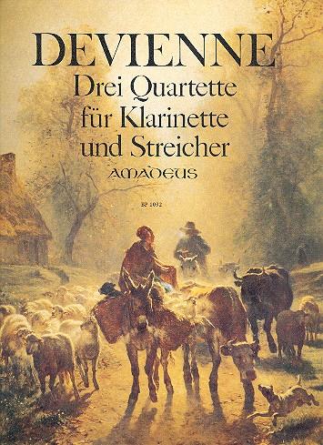 3 Quartette opus.73: Für Klarinette und Streichtrio