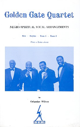 Golden Gate Quartet vol.1: Negro- spiritual vocal arrangements pour