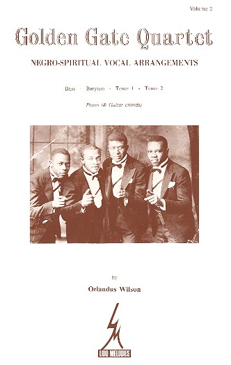 Golden Gate Quartet vol.2: Negro- spiritual vocal arrangements pour