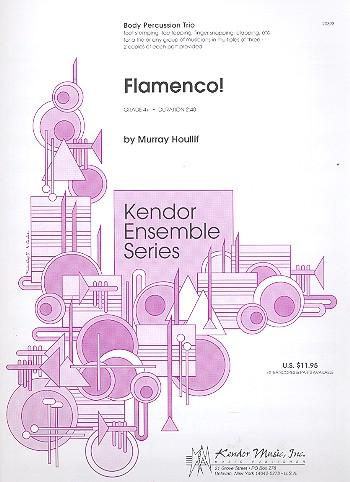 Flamenco: for body percussion trio score and parts