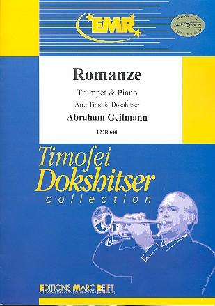 Romanze: für Trompete in B oder C