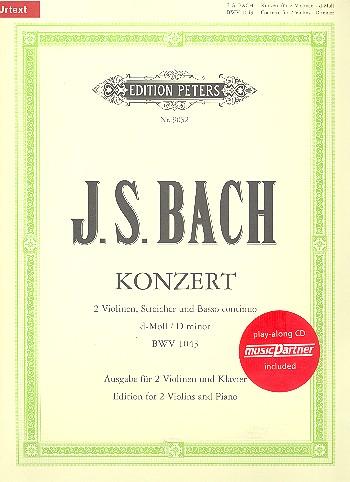 Bach, Johann Sebastian - Konzert d-Moll BWV1043 für 2 Violinen